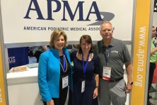 APMA Jim Christina Marcia Nusgart and Karen Ravitz